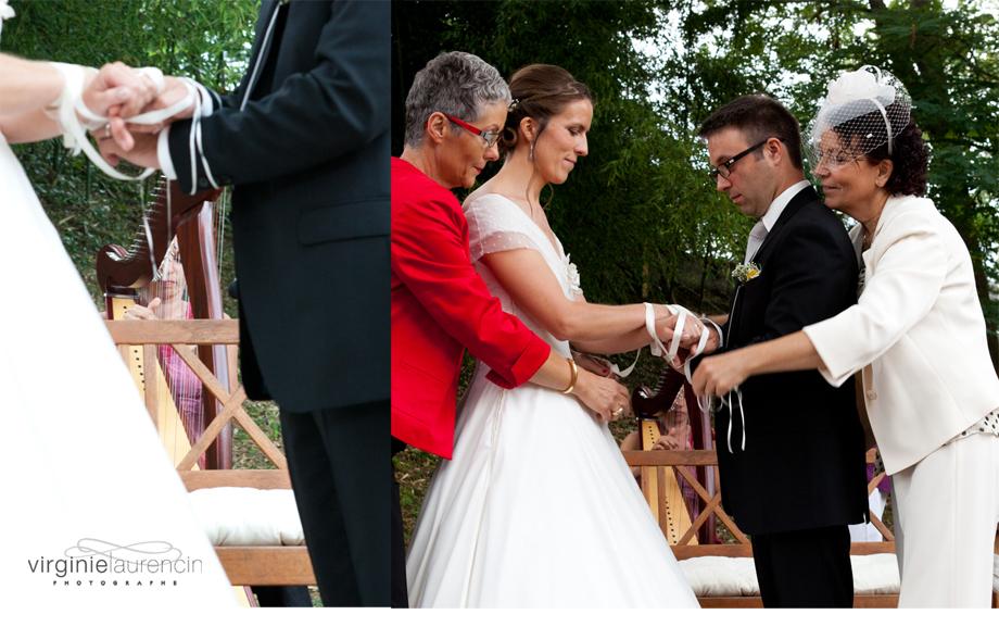 cérémonie laïque rituel des rubans