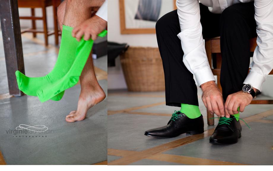 préparatif marié chaussures