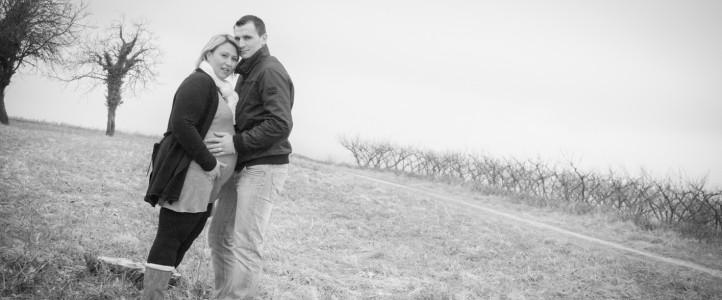 Séance grossesse Céline et JB