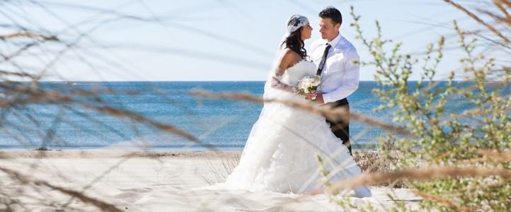 Shooting mariage à la Grande-Motte