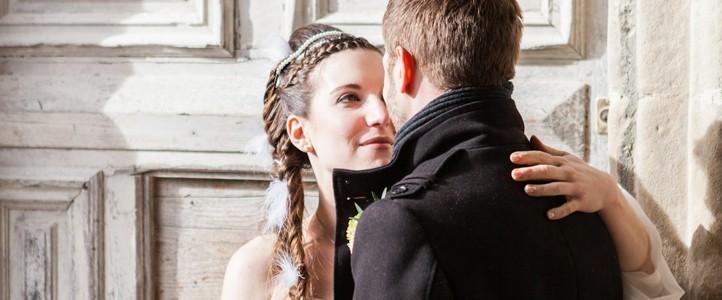 Mariage hivernal de T&J