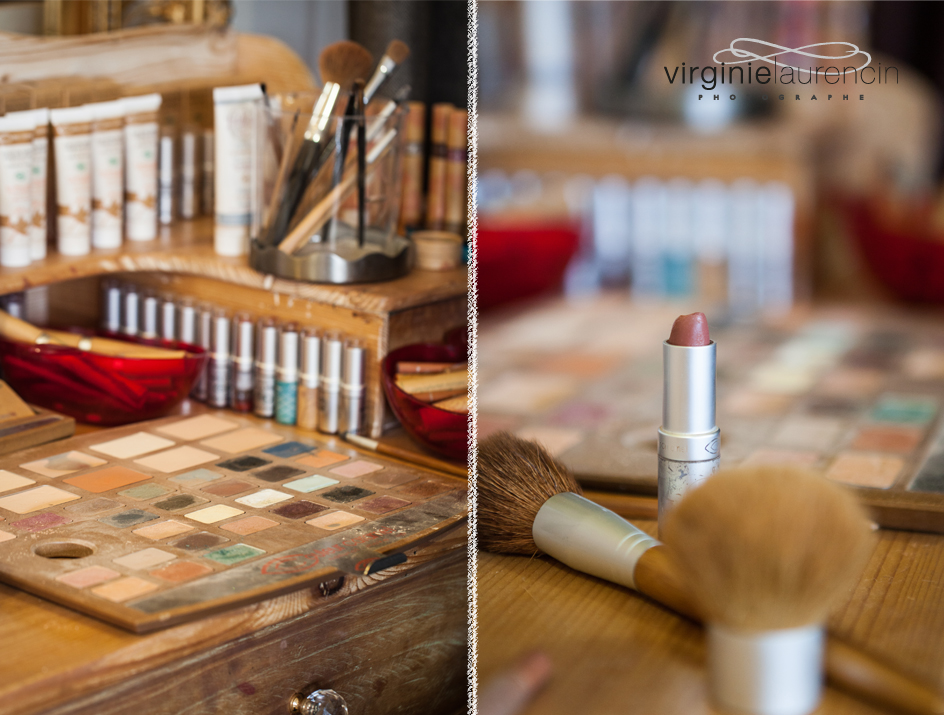 PHOTOGRAPHE MARIAGE ANNECY MAQUILLAGE DETAIL
