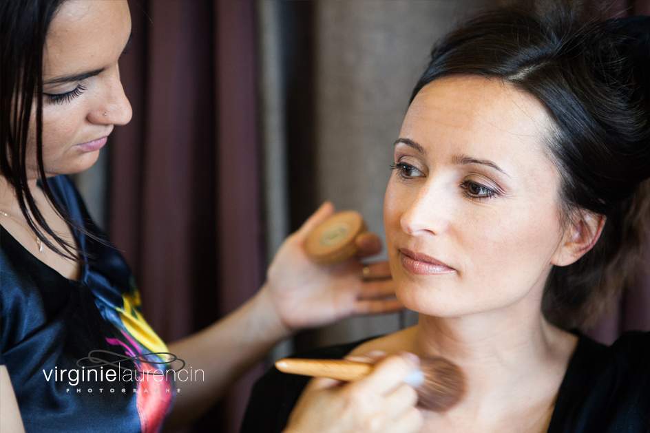 PHOTOGRAPHE MARIAGE ANNECY MAQUILLAGE FINITION