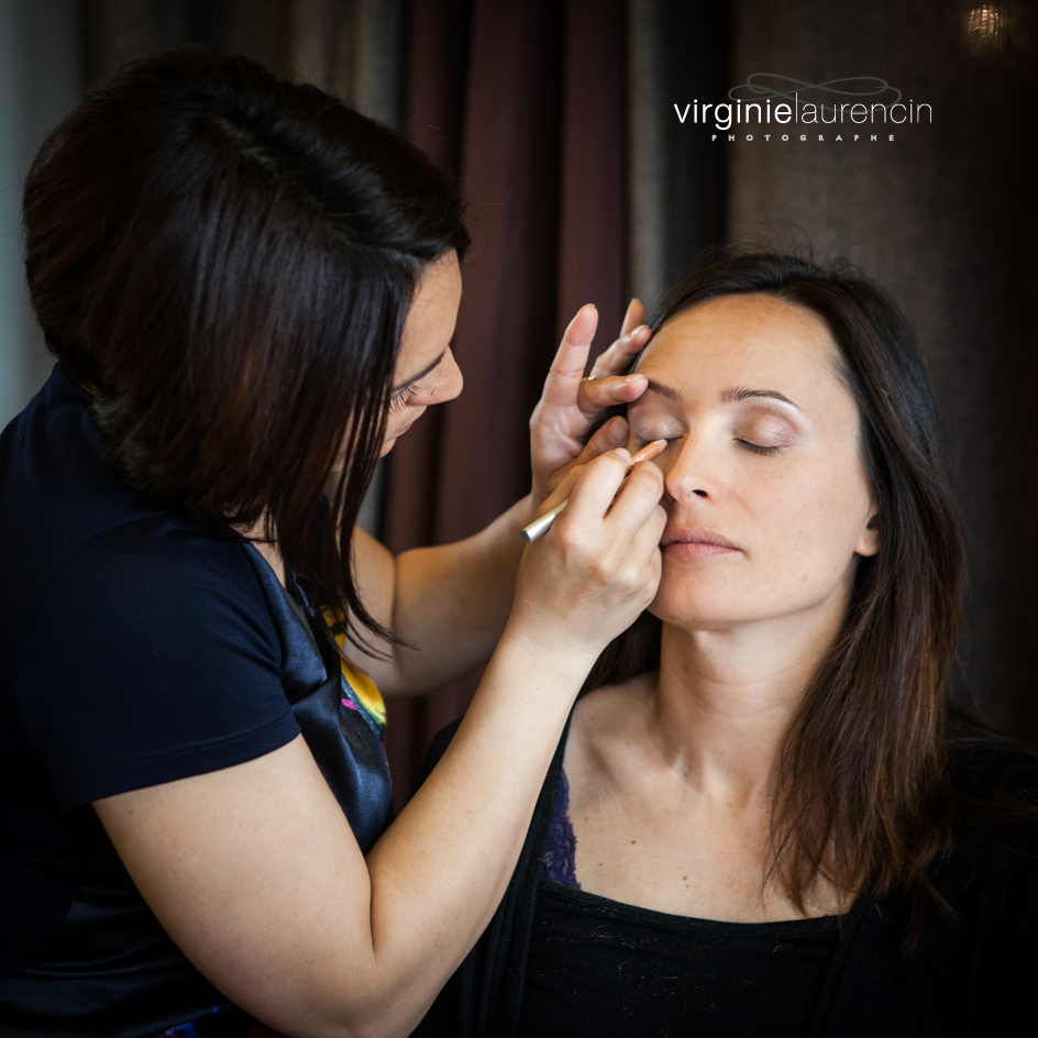 PHOTOGRAPHE MARIAGE ANNECY MAQUILLAGE YEUX