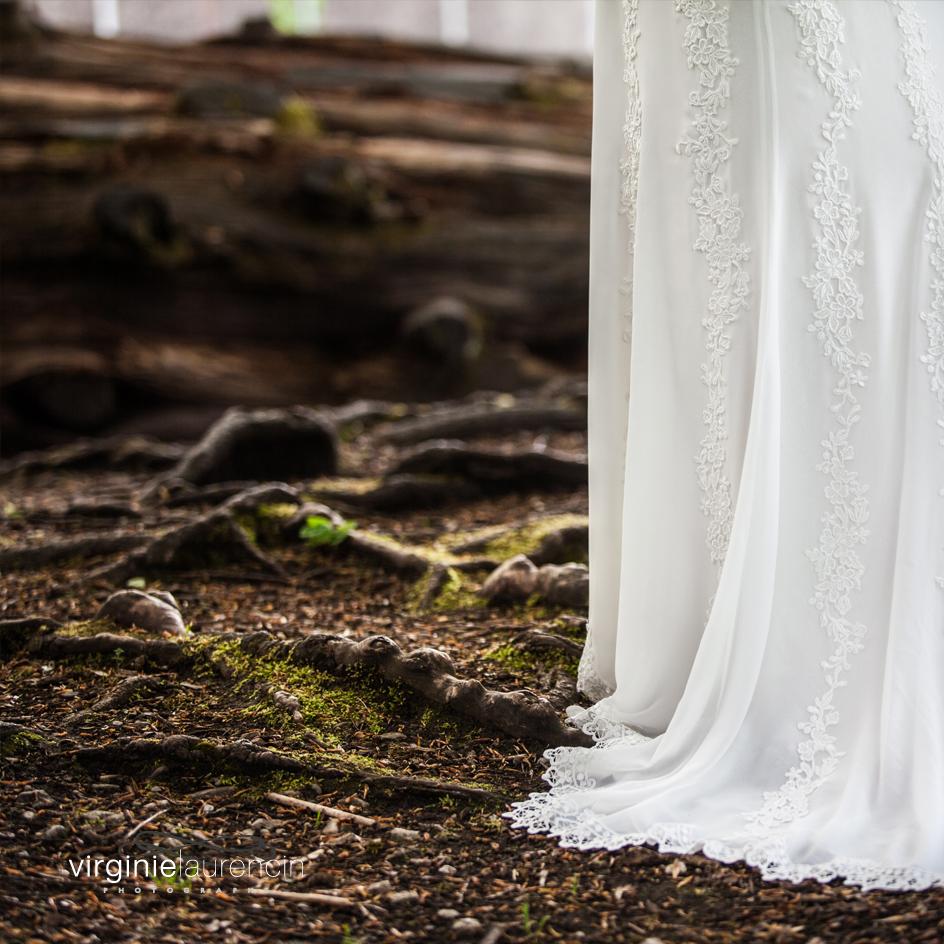 Robe sous bois
