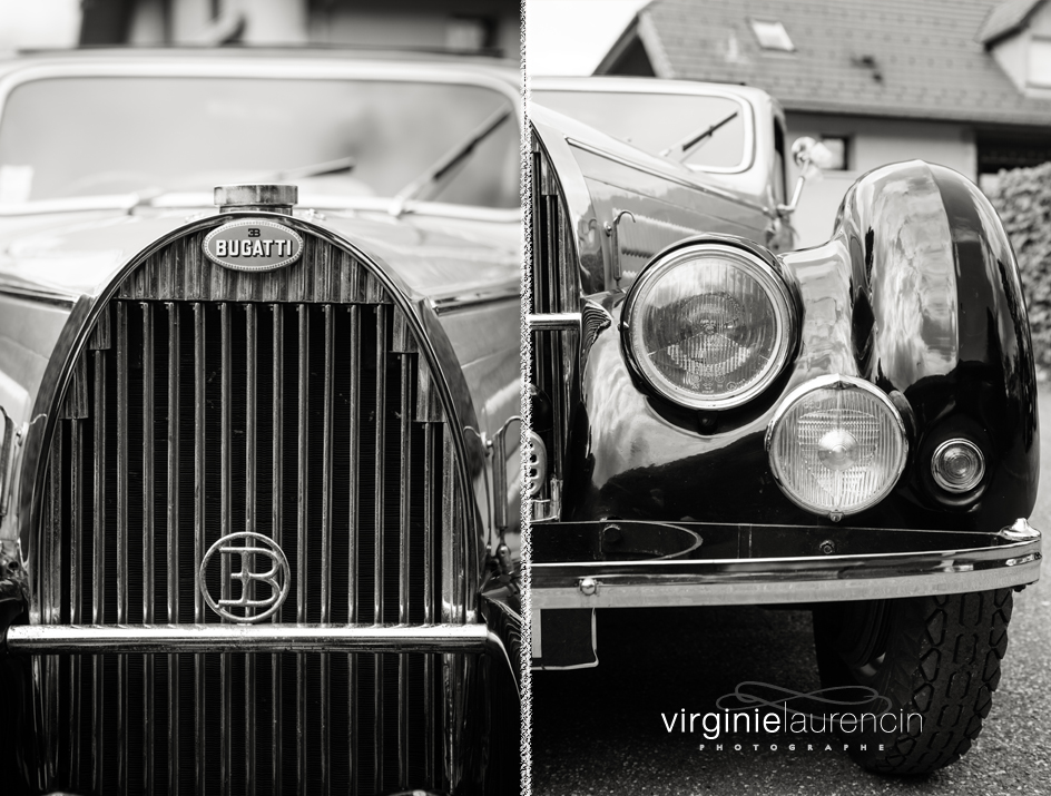 Vieille Bugatti mariage