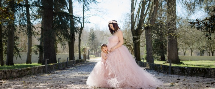 Séance grossesse mère fille