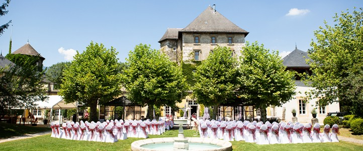 Reportage photo mariage Château de Candie Chambéry